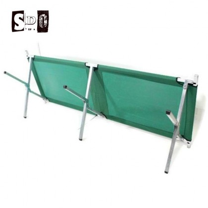 Folding Camping Bed Green