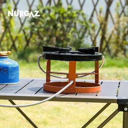 Nurgaz outdoor camping stove stove split gas stove flat gas tank stove portable picnic stove