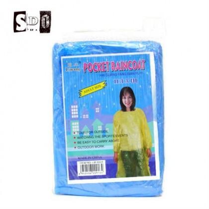Pocket Raincoat Outdoor Events Poncho