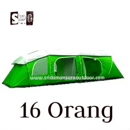 16 Person Camping Giant Tent
