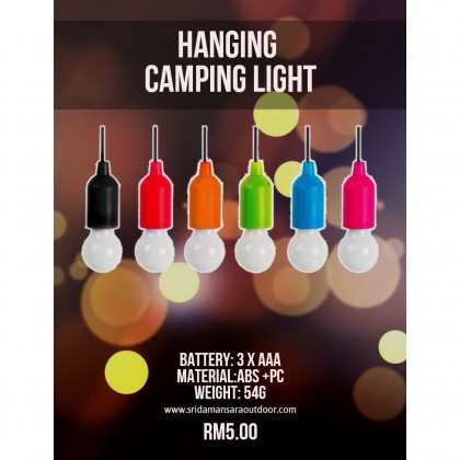 New Hanging Camping Lights