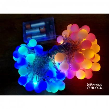 LED color lights flashlights small ball color lights battery USB light string flash decorative camping lights