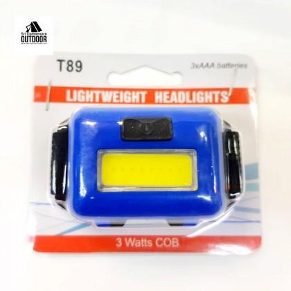 3 Watts COB Camping Headlamp T89 for Kids